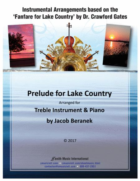 Prelude for Lake Country - Treble Instrument and Piano