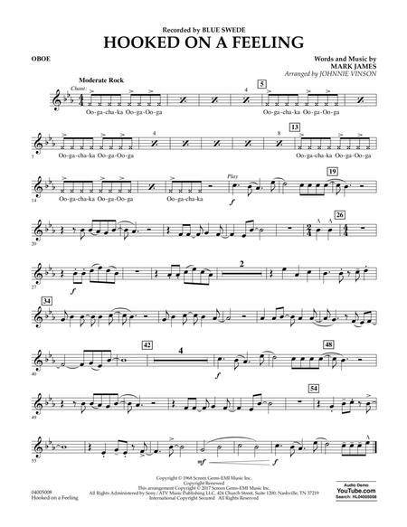 Hooked on a Feeling - Oboe