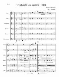Overture to Der Vampyr (Double Reed Ensemble)