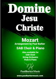 Domine Jesu Christe (Piano/Vocal Score)