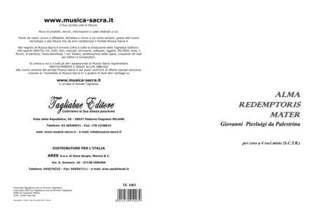 ALMA REDEMPTORIS MATER - G.P. Palestrina - Mottetto for SATB Choir