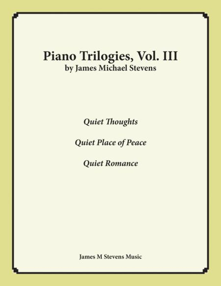 Piano Trilogies, Vol. III (Peace)