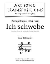 Ich schwebe, Op. 48 no. 2 (A-flat major)