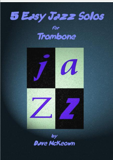 5 Easy Jazz Solos for Trombone and Piano