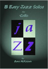 5 Easy Jazz Solos for Cello and Piano