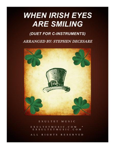 When Irish Eyes Are Smiling (Duet for C-Instruments)