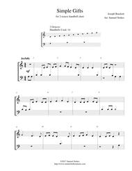 Simple Gifts - for 2-octave handbell choir