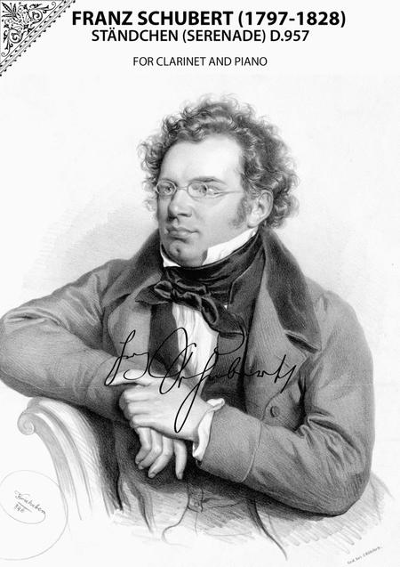 Franz Schubert - Ständchen (Serenade) D.957 for Clarinet and Piano