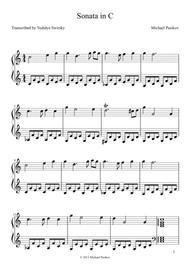 Sonata in C.