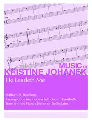 He Leadeth Me (2 Octave Handbells, Tone Chimes, Hand Chimes or Belleplates)
