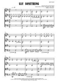 Say Something - String Quartet