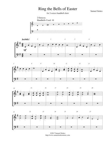 Ring the Bells of Easter - for 2-octave handbell choir