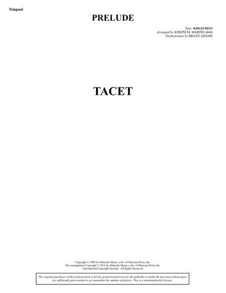 Sacred Places - Timpani