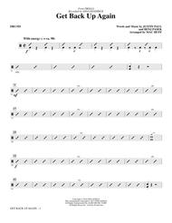 Get Back Up Again (from Trolls) (arr. Mac Huff) - Drums