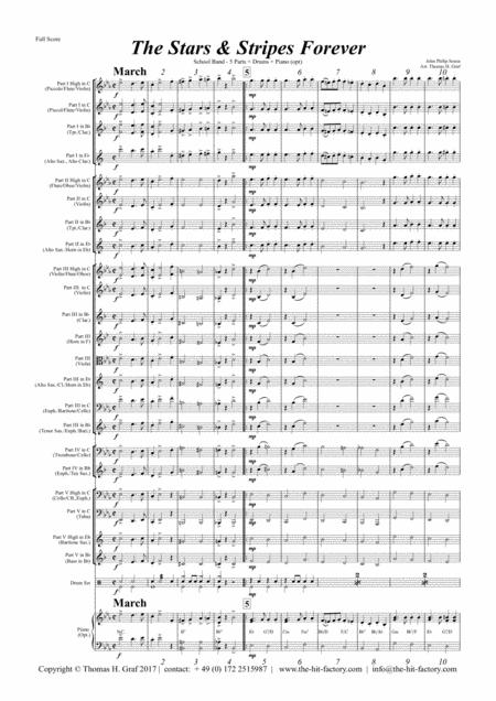 Stars and Stripes forever - Sousa - School Band