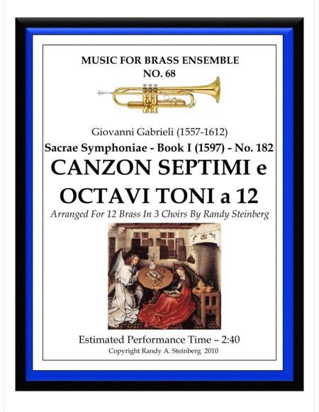 Canzon Septimi e Octavi Toni a 12 - No. 182