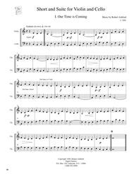 Short and Suite (Duet for Violin and Cello)