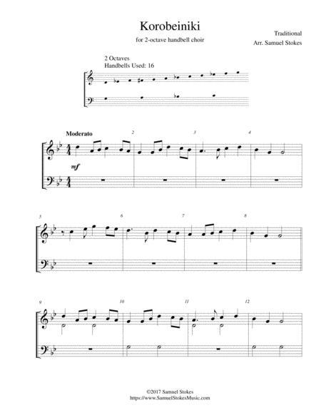 Korobeiniki (Korobushka) - for 2-octave handbell choir