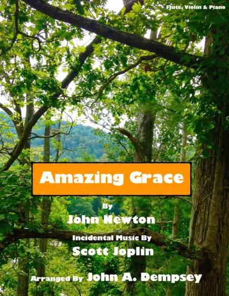 Amazing Grace / The Entertainer (Trio for Flute, Violin and Piano)