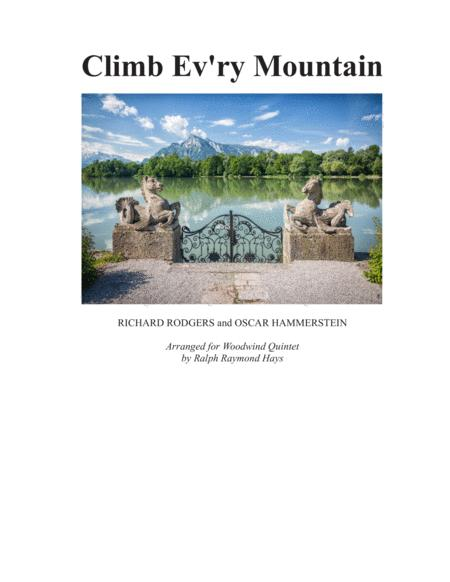 Climb Ev'ry Mountain (for Woodwind Quintet)