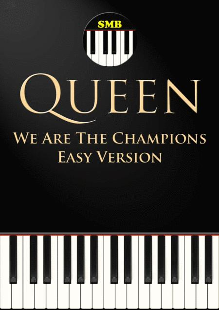 We Are The Champions by Queen (Easy Piano)