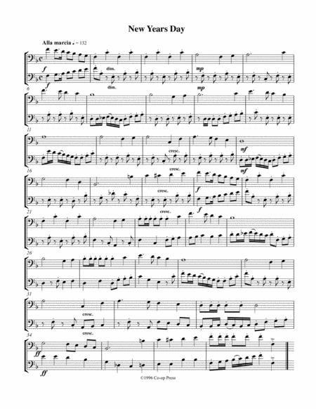 Holiday Etudes/Duets Bass Clef Book