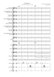 Via Dolorosa - (piano, violin, cello, flute, clarinet, saxophone)