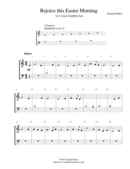 Rejoice this Easter Morning - for 2-octave handbell choir