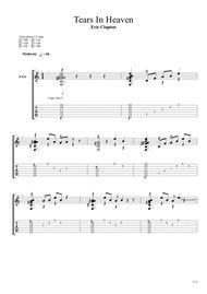 Tears In Heaven by Fingerstyle Guitar