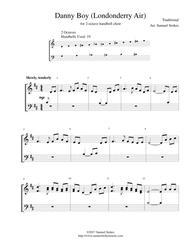 Danny Boy (Londonderry Air) - for 2-octave handbell choir