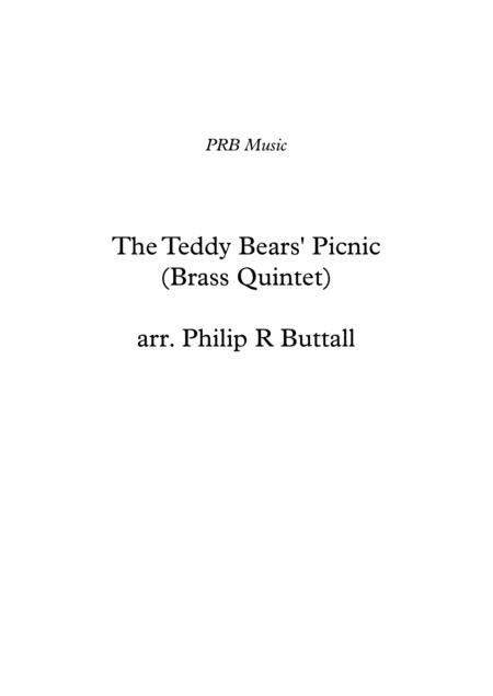 The Teddy Bears' Picnic (Brass Quintet) - Score