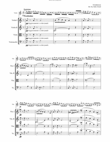 Download Jenkinson Elfentanz (Elves Dance ) For Solo Violin