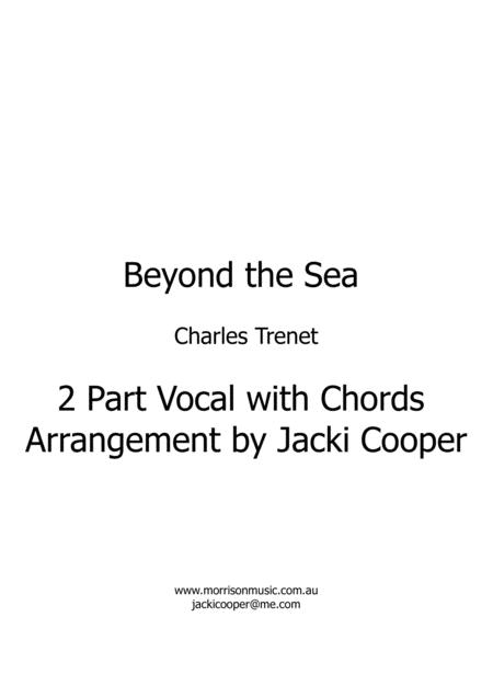 Beyond The Sea - for 2 Voices with chords - in Eb