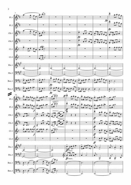 dvorak: legends op.59 mvt.9 in d - wind dectet by antonin dvorak  (1841-1904) - digital sheet music for score,set of parts - download & print  s0.194645   sheet music plus  sheet music plus