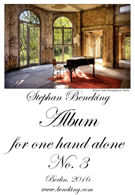 Album for One Hand Alone No. 3