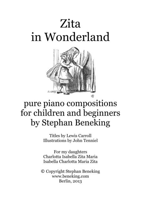Zita in Wonderland - 24 piano miniatures for children and beginners