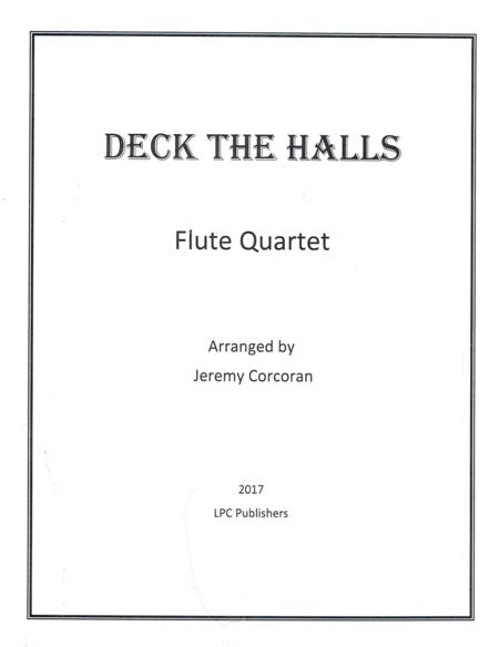 Deck the Halls for Flute Quartet