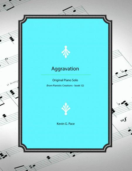 Aggravation - original piano solo