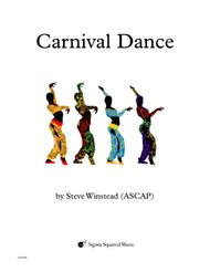 Carnival Dance for Clarinet Quintet/Choir