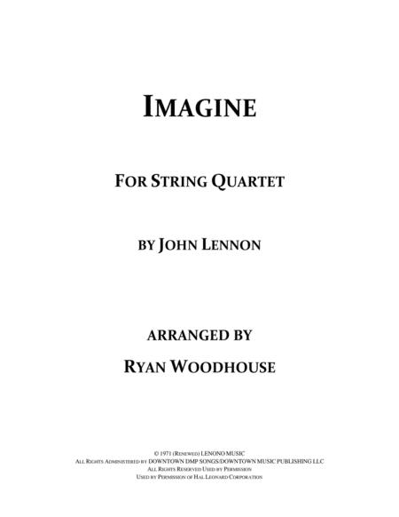 Imagine - String Quartet