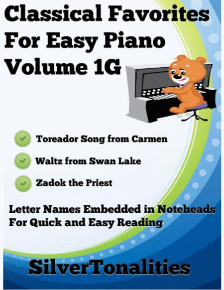 Classical Favorites for Easy Piano Volume 1G Sheet Music