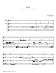 Fugue 20 from Well-Tempered Clavier, Book 2 (Flute Quartet)