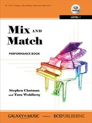 Mix and Match Performance Book: Level 1