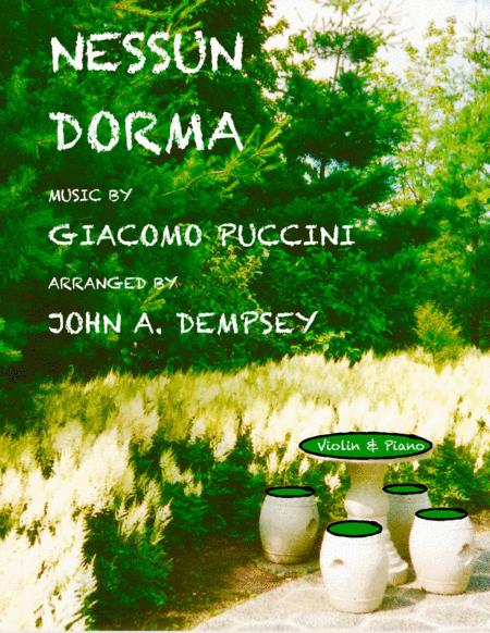 Nessun Dorma (Violin and Piano)