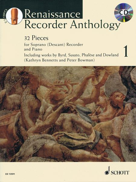 Renaissance Recorder Anthology 1 Vol. 1