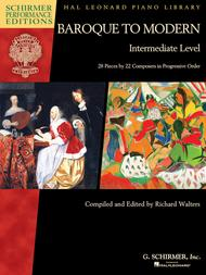 Baroque to Modern: Intermediate Level