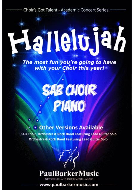 Hallelujah! (SAB Choir & Piano)