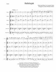 Hallelujah (for Flute Choir)
