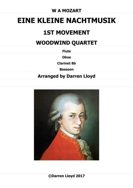 Eine Kleine Nachtmusik for Woodwind Quartet