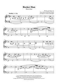 Rocket Man (Easy Piano)